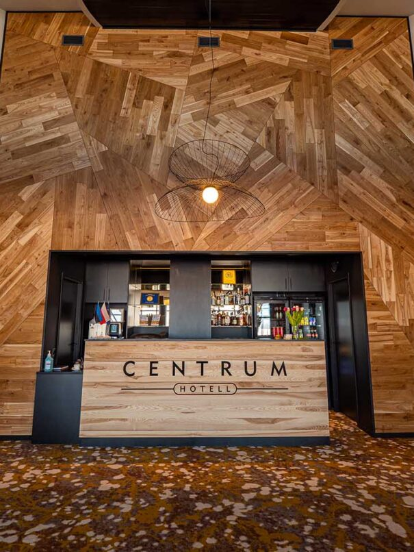 Centrum hotell check-in
